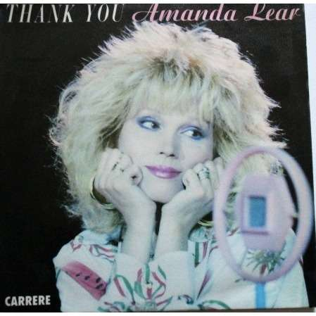 amanda lear thank you