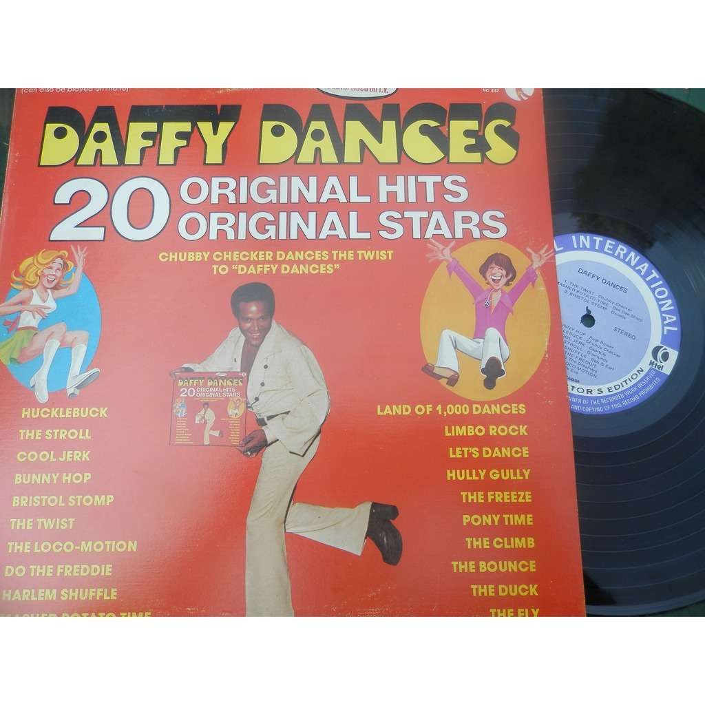 CHUBBY CHECKER,DOVELLS,JACKIE LEE ECT DAFFY DANCE 20 ORIGINAL HITS