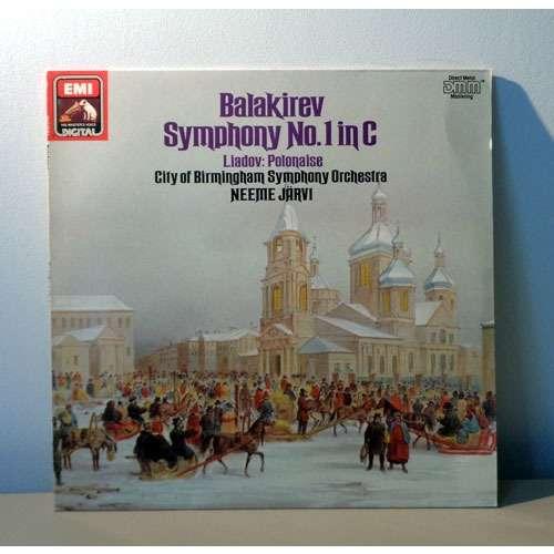 NEEME JARVI BALAKIREV Symphony n°1 in c / Liadov