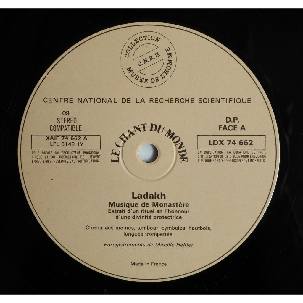 Various Ladakh - Musique De Monastère Et De Vil