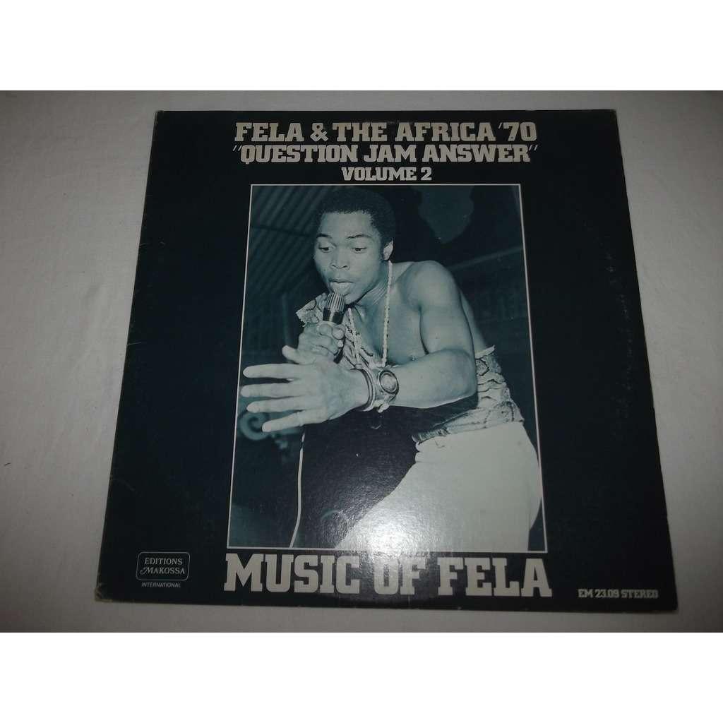 FELA & the AFRICA 70 Question jam answer - Music of Fela volume 2