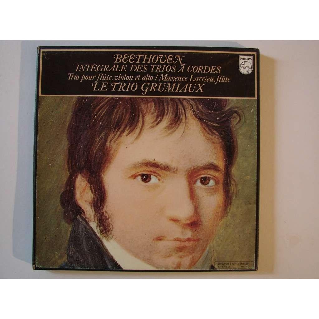 le Trio Grumiaux Beethoven Integrale des trios a cordes