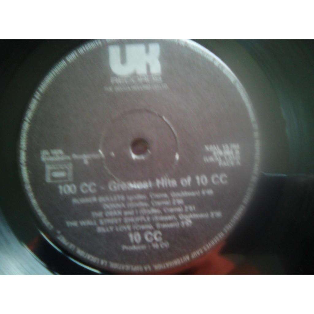 10cc - 100cc - Greatest Hits Of 10cc 10cc - 100cc - Greatest Hits Of 10cc