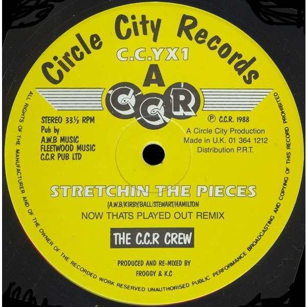 C.C.R. CREW stretchin' the pieces