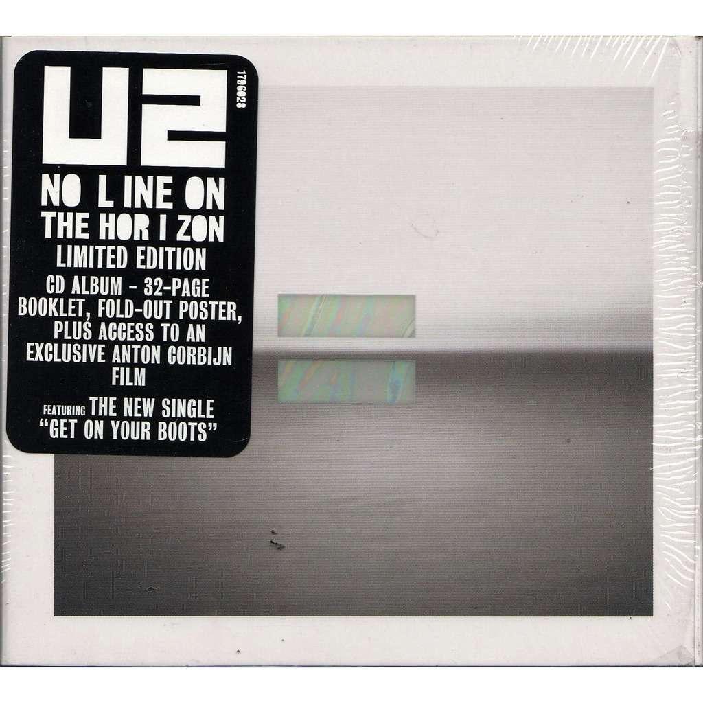 No Line On The Horizon Euro 2009 Ltd 11 Trk Cd Album