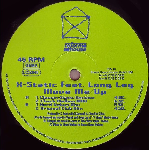 X-Static Move Me Up