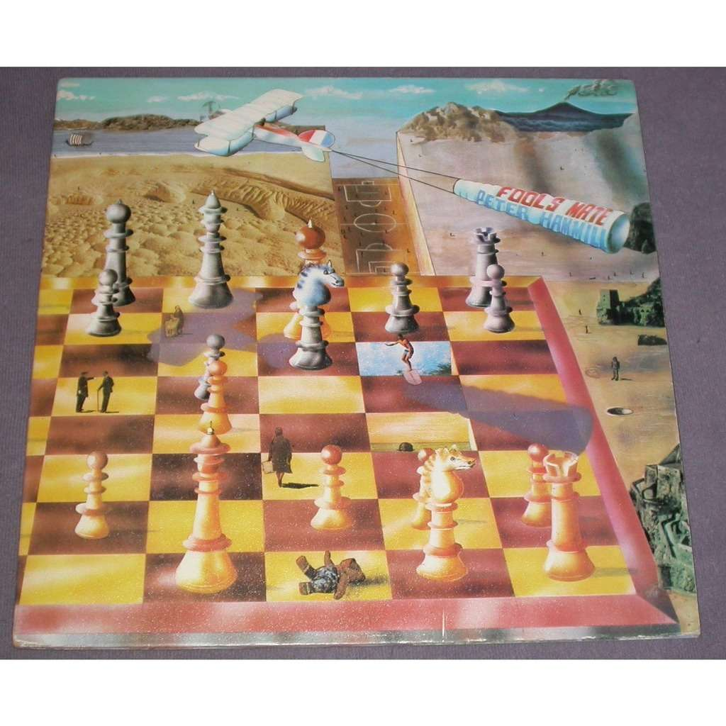 fools mate by peter hammill lp with safir ref 118943276