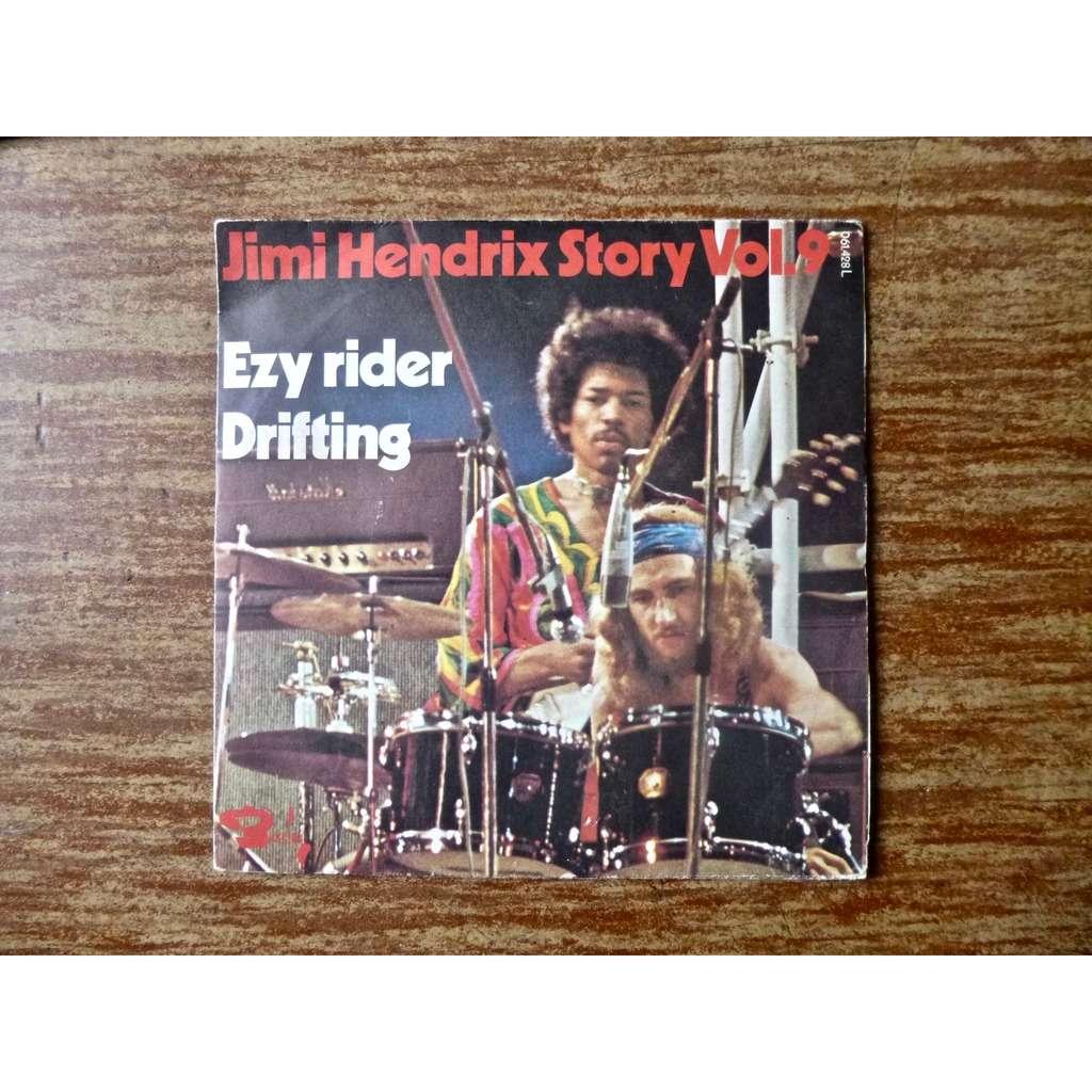 Jimi Hendrix story vol.9 Ezy Rider (eazy rider) / Drifting