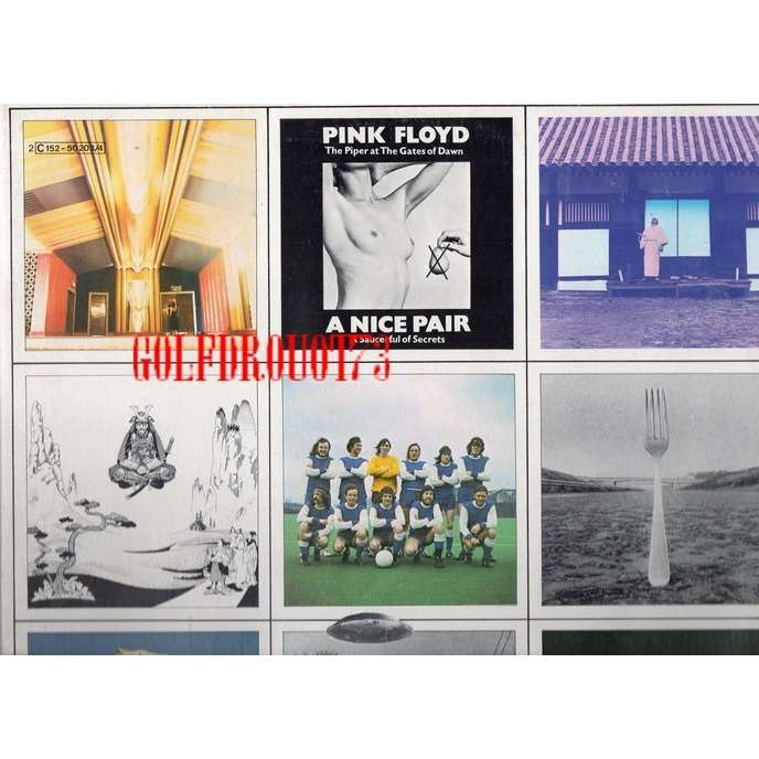 PINK FLOYD A NICE PAIR .. THE PIPER AT THE GATES OF DAWN . A SAUCERFUL OF SECRETS