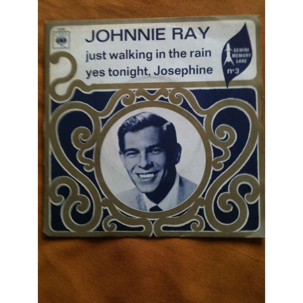 JOHNNY RAY Just walking in the rain
