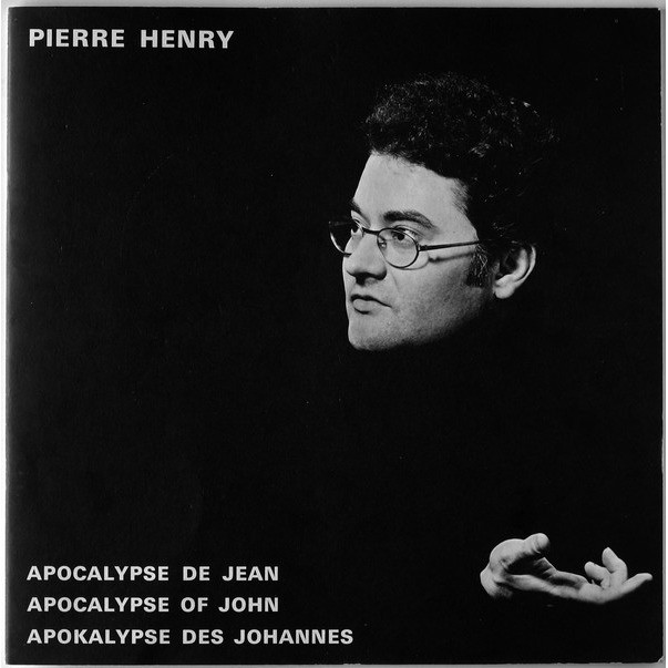 Pierre HENRY apocalypse de jean (3xlp in box + booklet - biem - near mint - red label - careful 2 records on 3)
