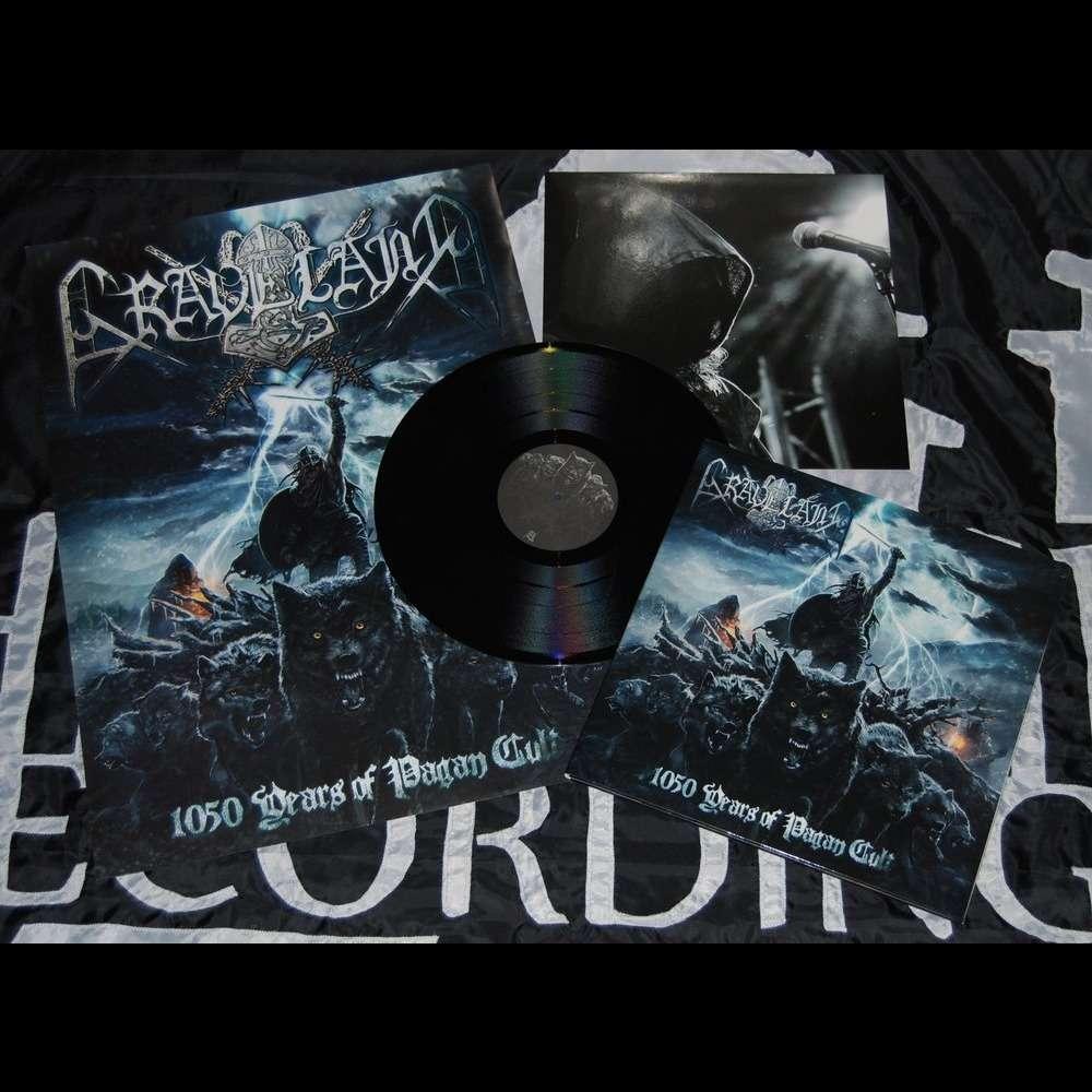 GRAVELAND 1050 Years of Pagan Cult. Black Vinyl