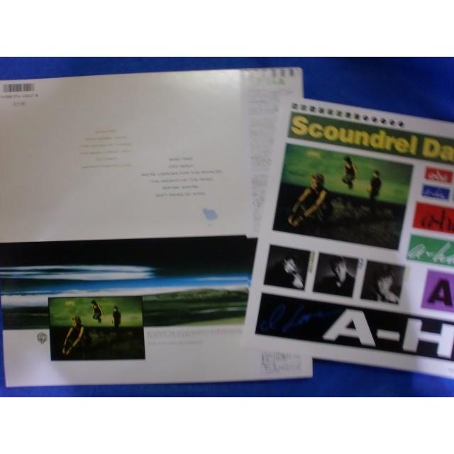 a-ha scoundrel days ( w/ stickers sheet )