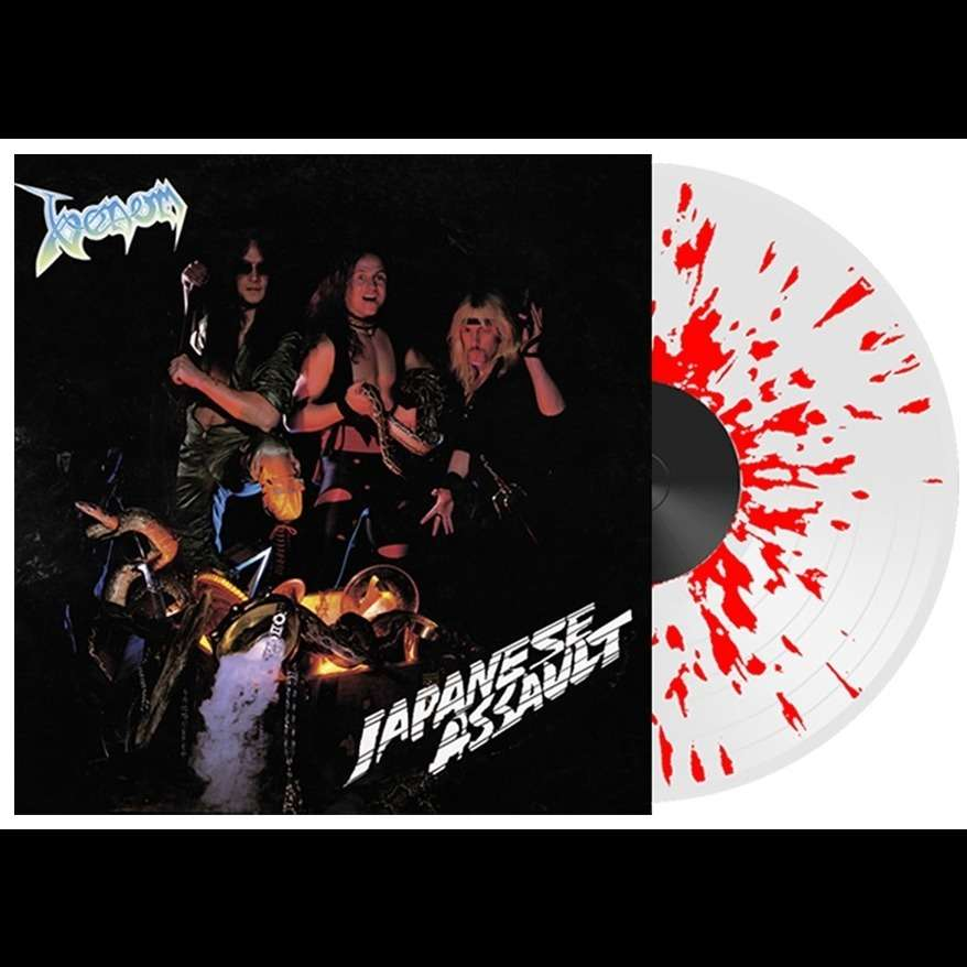 VENOM Japanese Assault. Splatter Vinyl