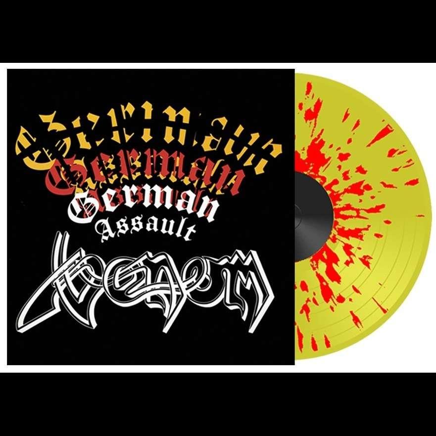 VENOM German Assault. Splatter Vinyl