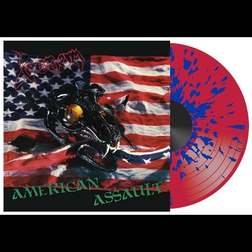 VENOM American Assault. Splatter Vinyl