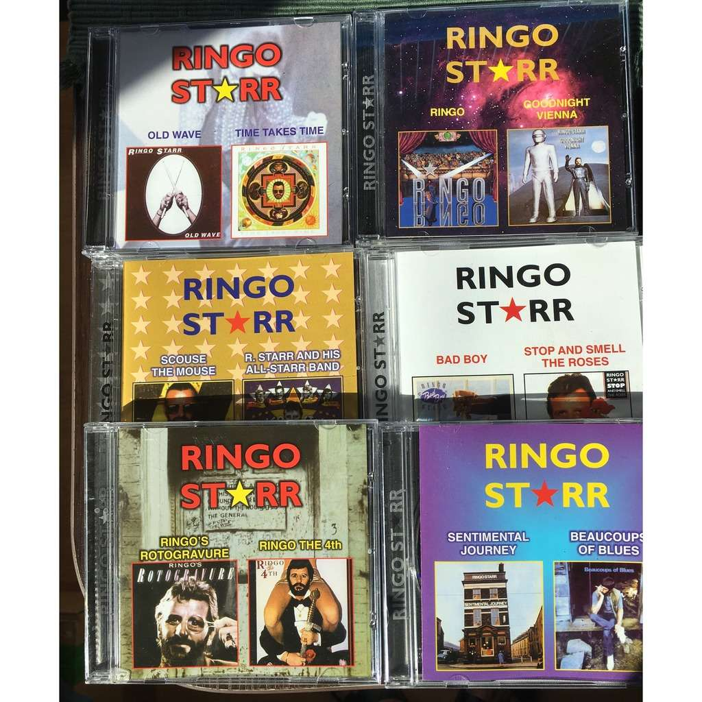 Ringo Starr 6 CDs Full Set (CD-Maximum,1999) RARE