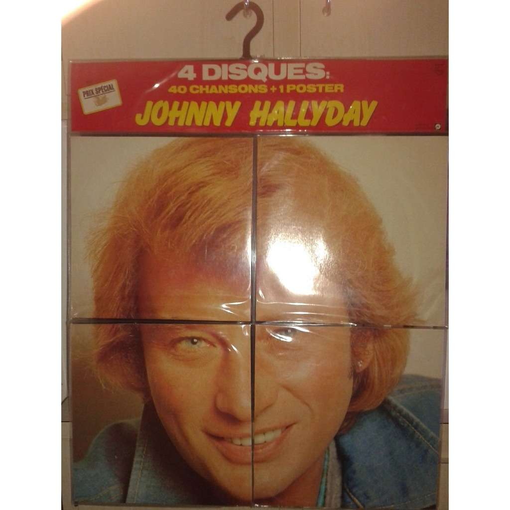 neuf scelle introuvable johnny hallyday puzzle 33 t poster porte manteau bandeau by johnny. Black Bedroom Furniture Sets. Home Design Ideas