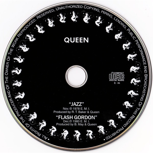 Jazz Flash Gordon By Queen Cd With Techtone11 Ref