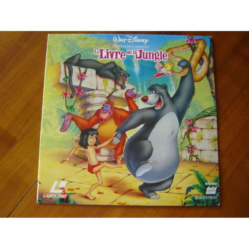 Walt Disney 1 Ld Le Livre De La Jungle Laserdisc France