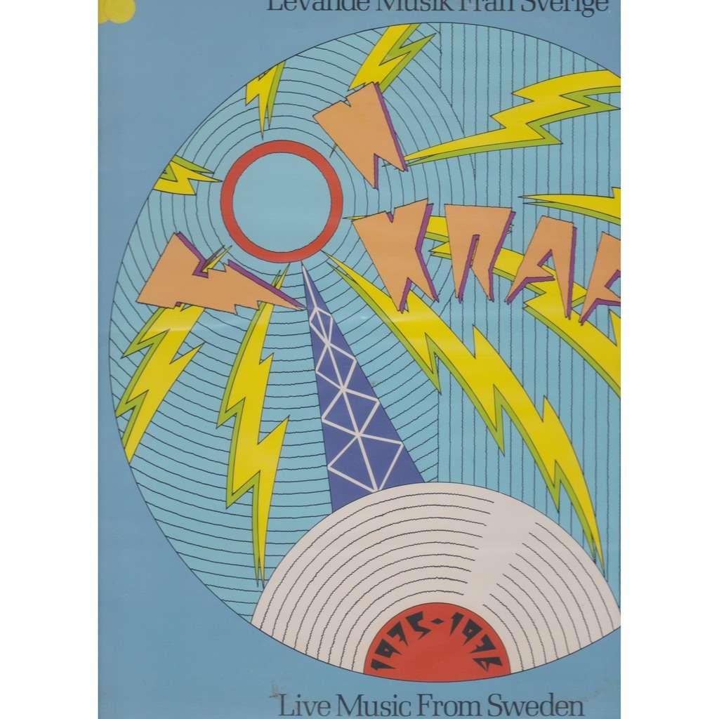 live music from sweden TONKRAFT 1975 - 1976