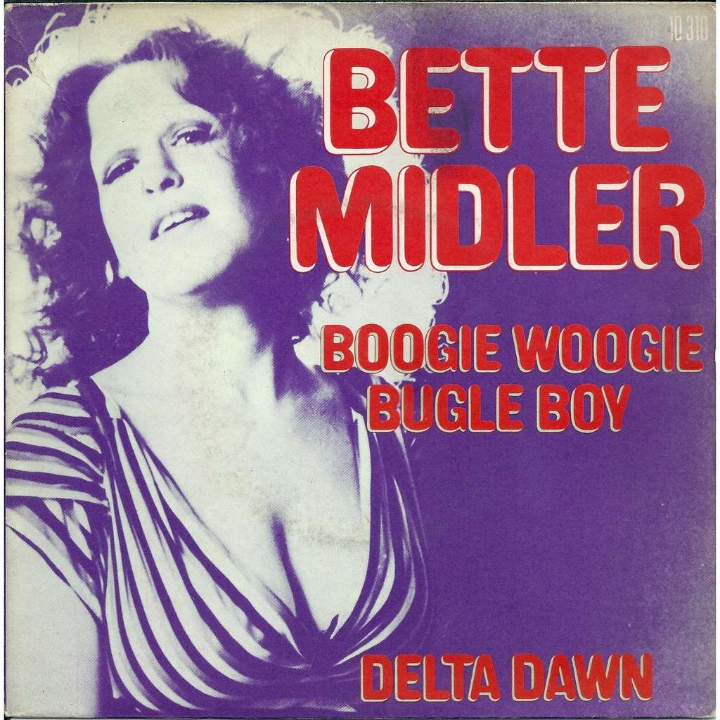 Boogie Woogie Bugle Boy By Bette Midler Sp With Revival