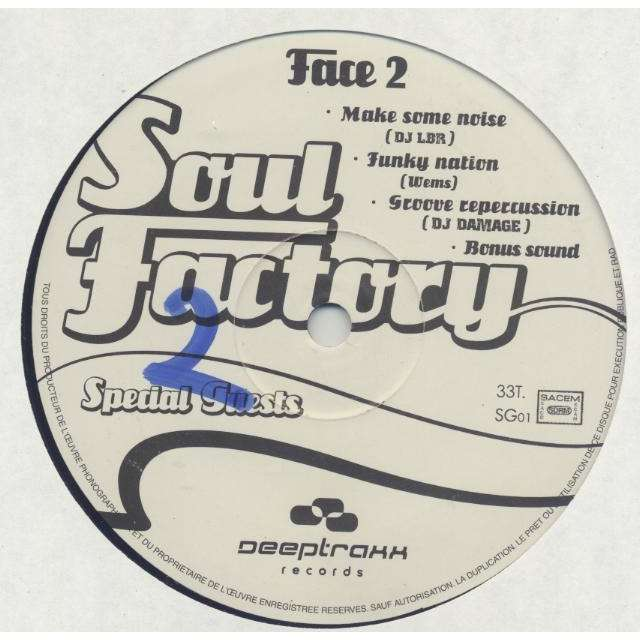 Wems & DJ Sub Zero Soul Factory Special Guests ( 7 Various Artists)