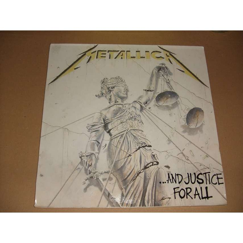 and justice for all by metallica lp x 2 with collector29 ref 118951829. Black Bedroom Furniture Sets. Home Design Ideas
