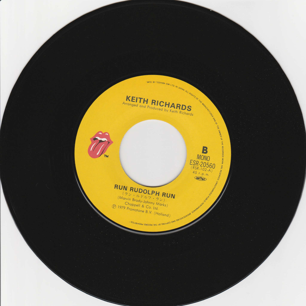 ROLLING STONES - KEITH RICHARDS Rune Rudolph run / The harder they come
