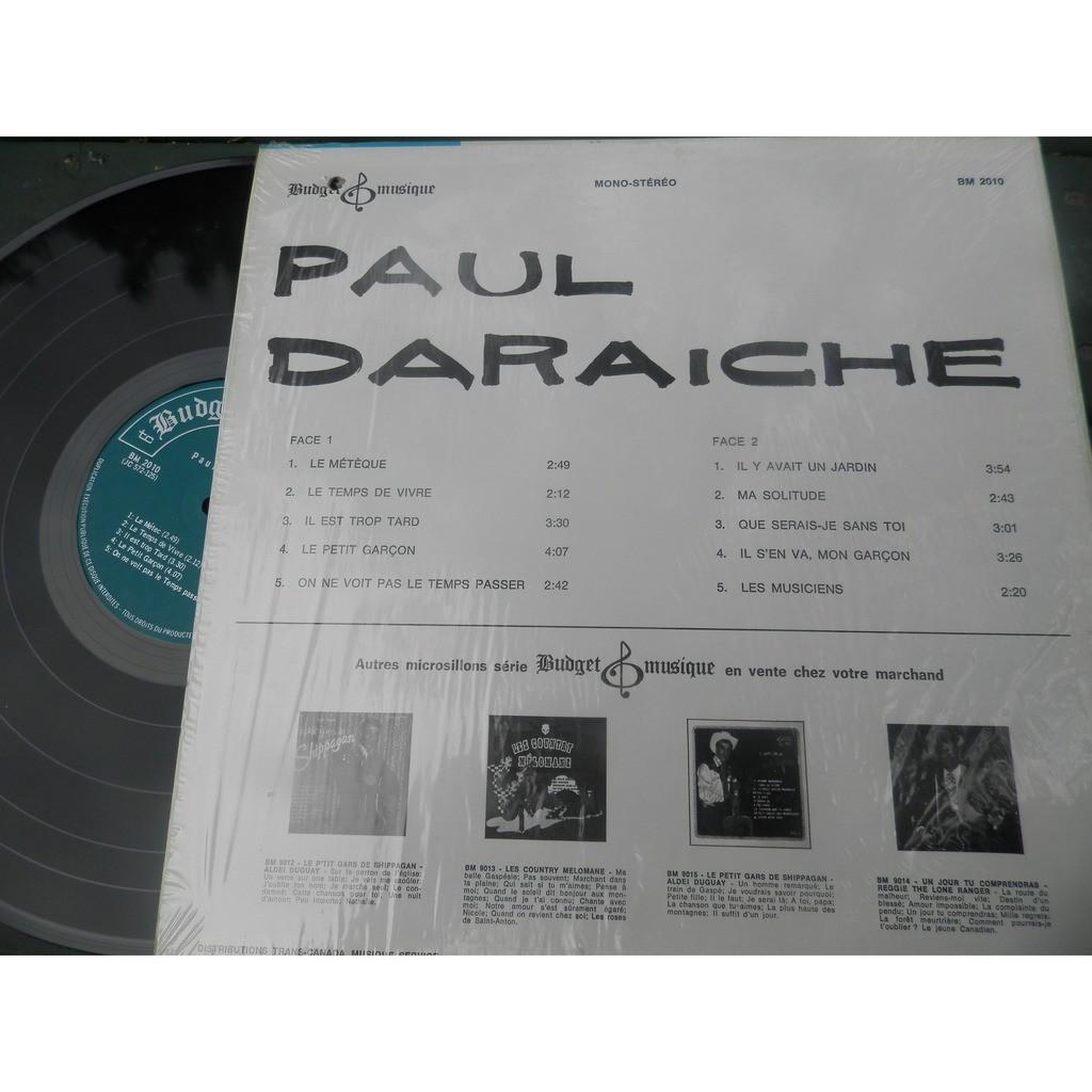paul daraiche PAUL DARAICHE