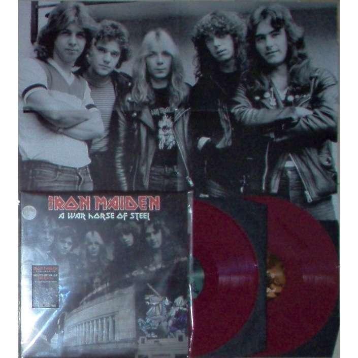 Iron Maiden A War Horse Of Steel (Hammersmith Odeon London UK 15.03.1980) (Ltd 400 no'd copies 2LP RED wax)