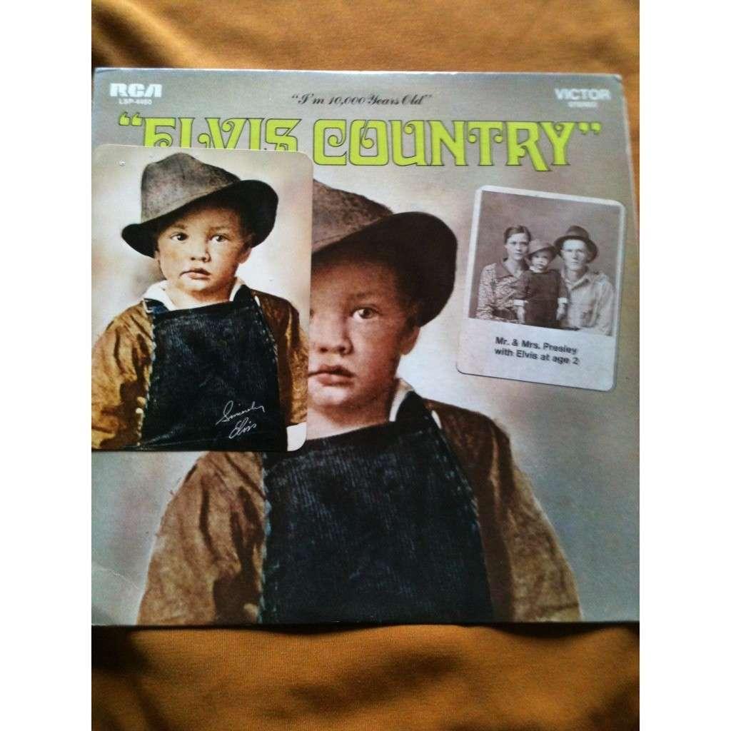 ELVIS PRESLEY Elvis Country I'm a10.000 years old