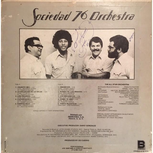 Orchestra Sociedad 76 S/T