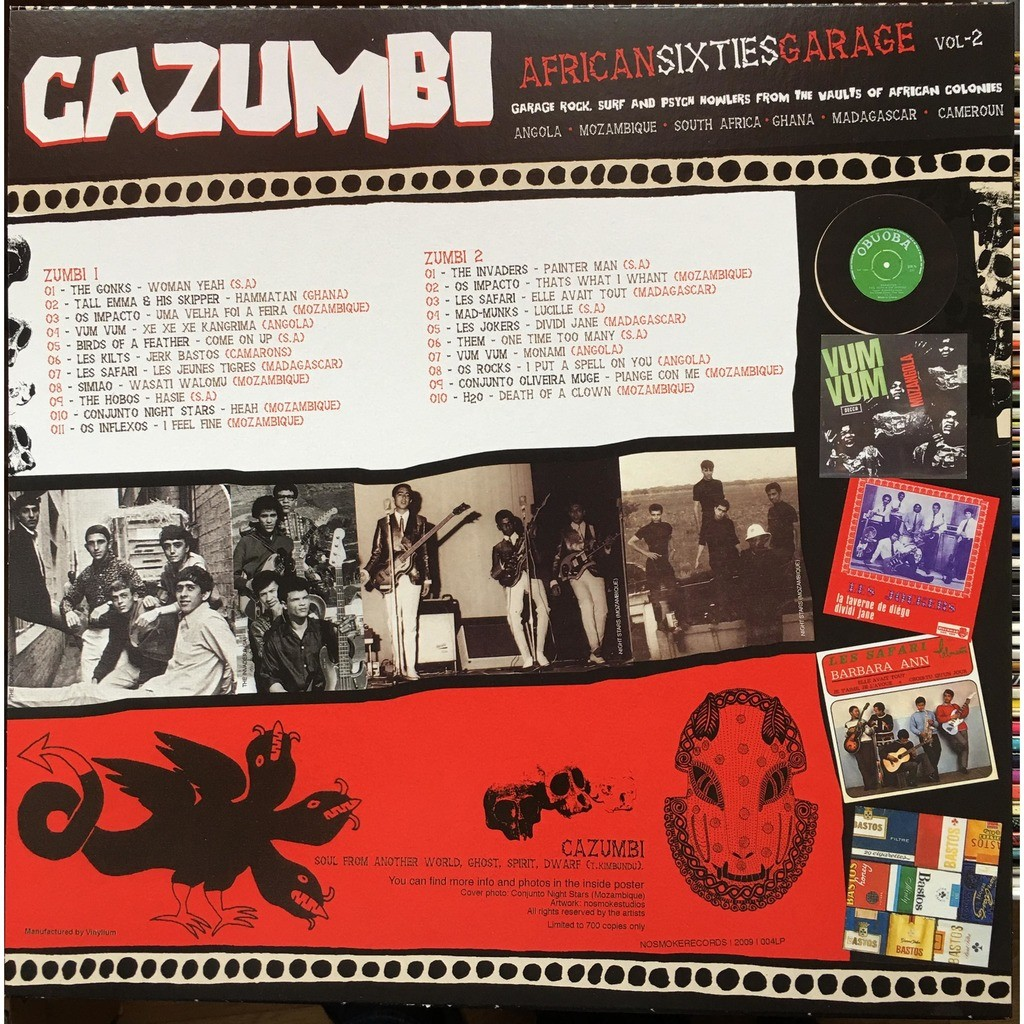 Various - CAZUMBI African sixties garage vol-2