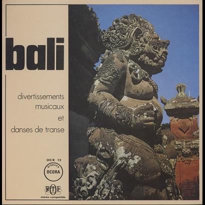 Bali Divertissements Musicaux Et Danses De Transe
