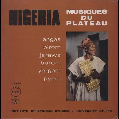 Nigeria Musiques Du Plateau