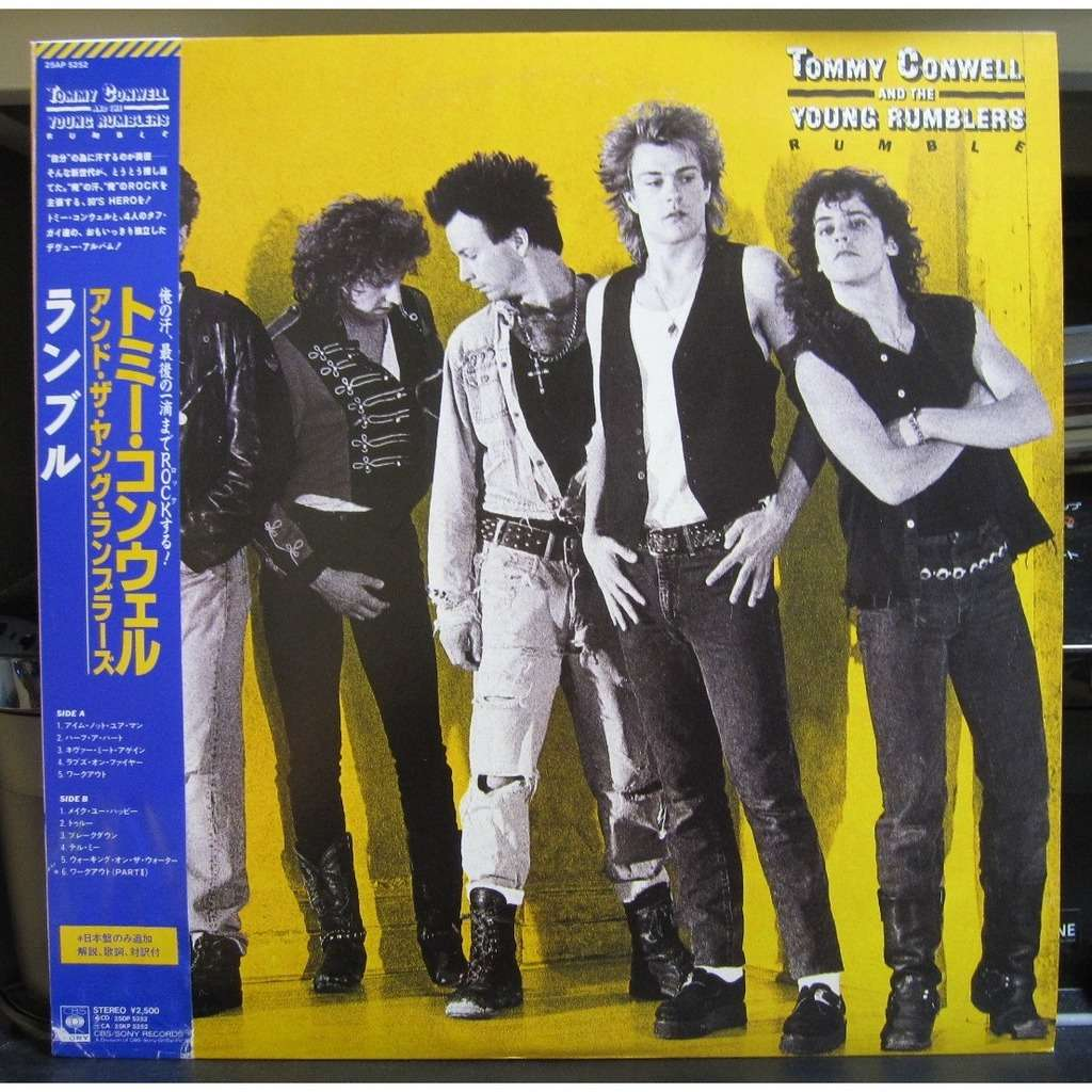TOMMY CONWELL & THE YOUNG RUMBLERS RUMBLE