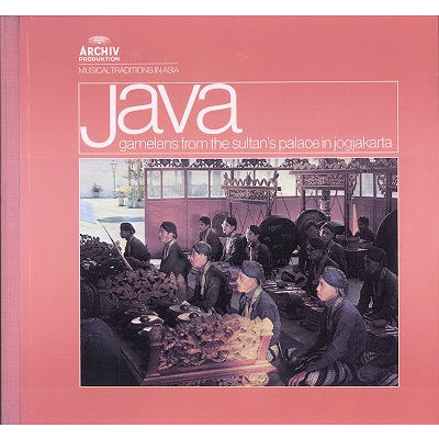 java gamelans from the sultan's palace in jogjakarta