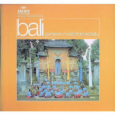 bali gamelan music from sebatu