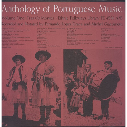 portuguese music, anthology vol.1 tras-o-montes