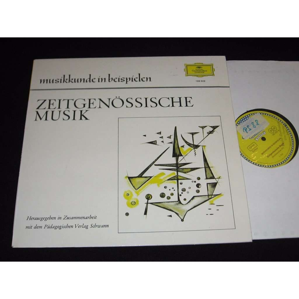 Zeitgenössische musik (musikepochen vii) by Various, LP with ...
