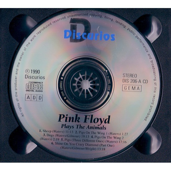 Pink Floyd Plays The Animals