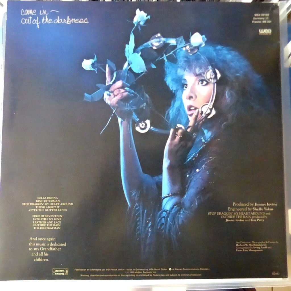 Bella Donna By Stevie Nicks Lp With Blackcircle Ref