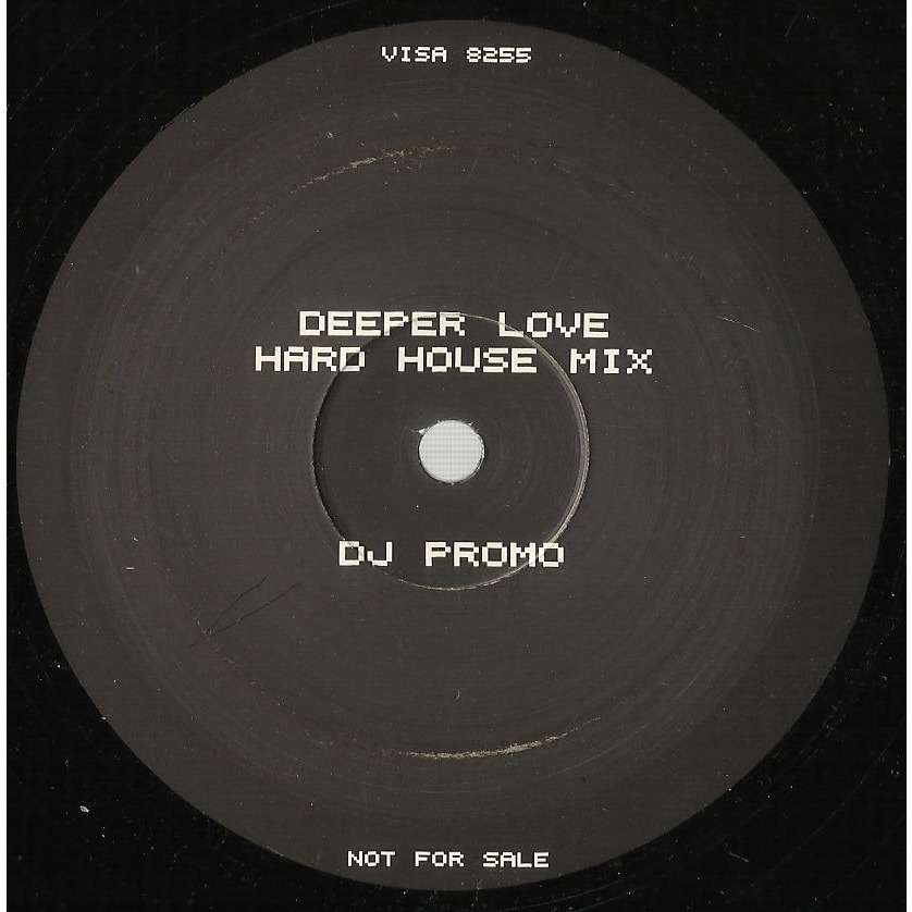 B.B.E. deeper love , hard house mix - (one side only)