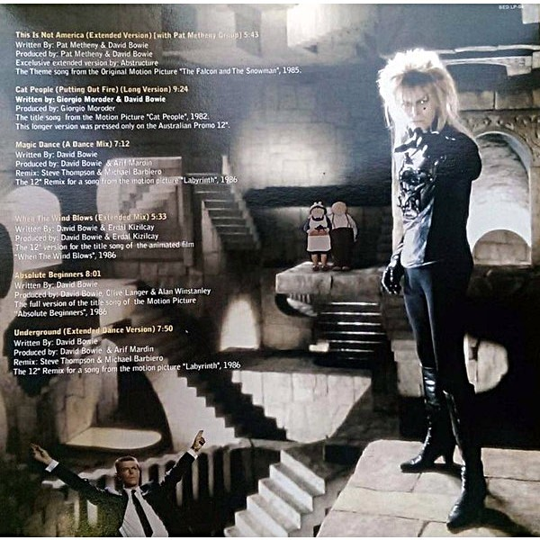 The 80's soundtracks by David Bowie, LP with madmanmoon