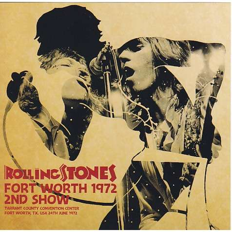 THE ROLLING STONES Fort Worth 1972 2nd Night