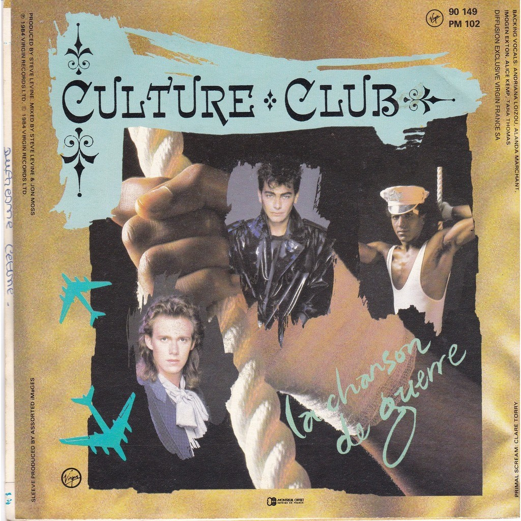 CULTURE CLUB The war song