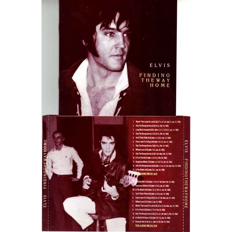 elvis presley 2 cd finding the way home 82 outtakes