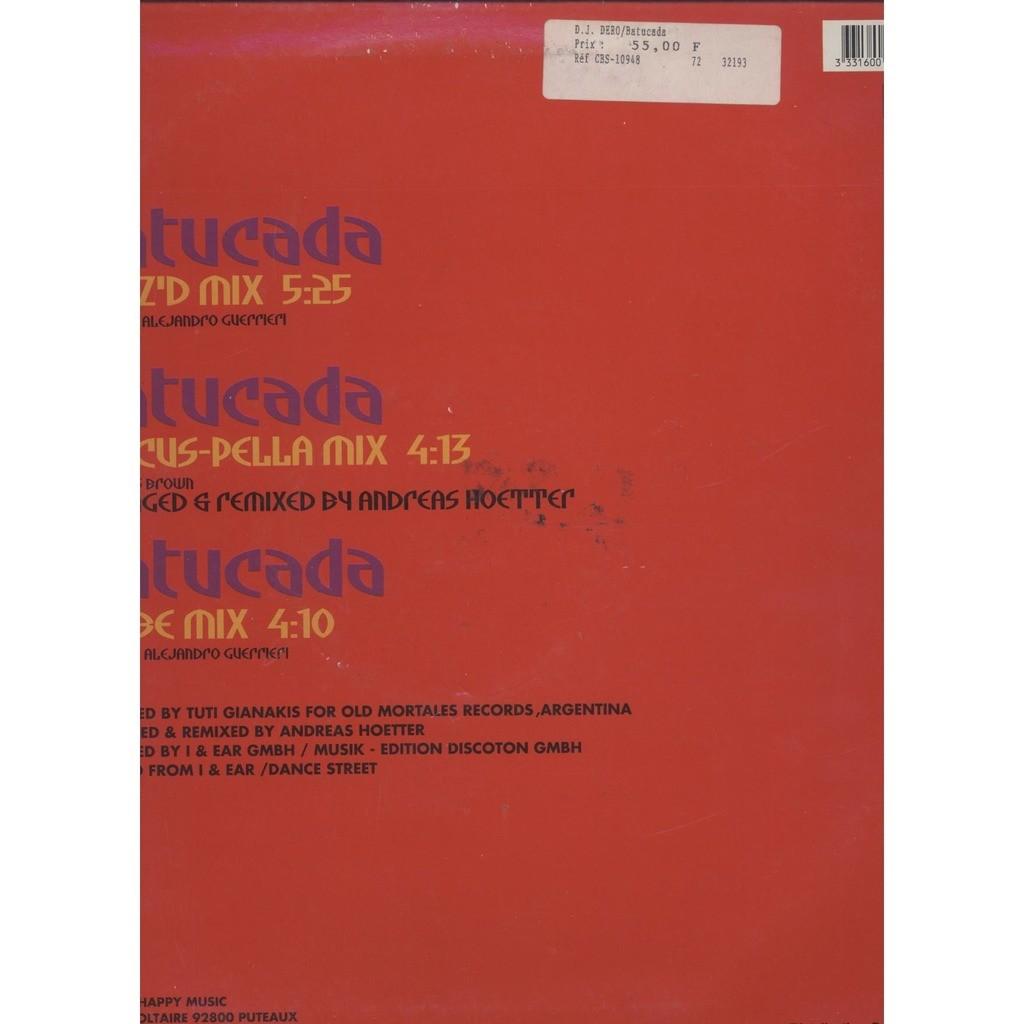 Batucada (the remixes) - by Dj Dero, 12inch with yvandimarco