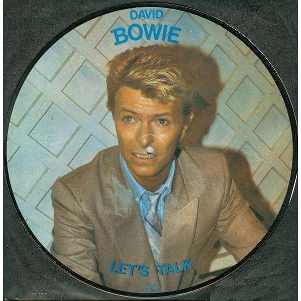 David Bowie Let's talk / Rare interview - Picture Disc